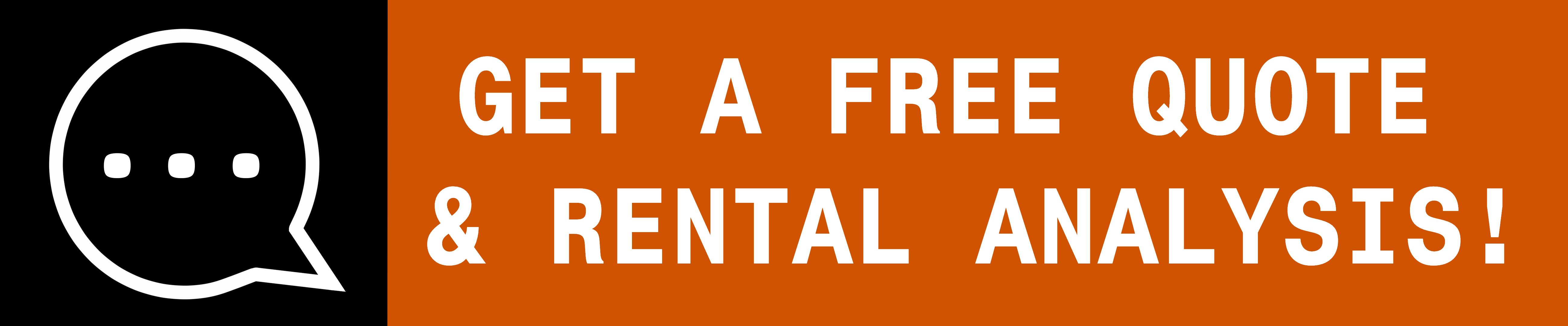Free Quote Rental Analysis